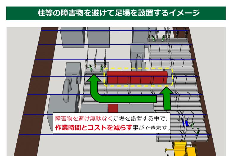 屋内天井工事例3