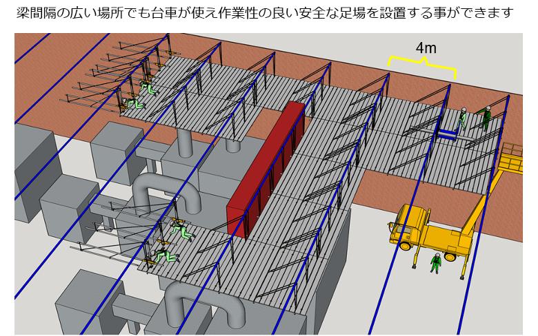屋内天井工事例4